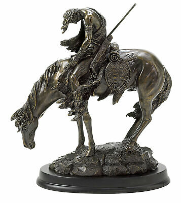 Accent Plus - The End Of The Trail Statue