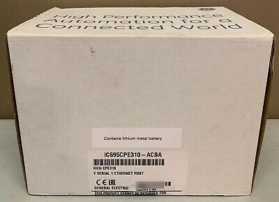 2019 New Sealed GE Fanuc IC695CPE310-ACBA PACSystems RX3i CPE310 CPU 1.1 GHz