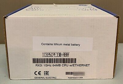 New Sealed GE Fanuc IC695CPE330-ABAF RX3i PACSystems CPE330 CPU 64MB