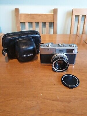 Minolta 7S Hi-Matic 35mm Camera With Rokkor-PF F1.8 45mm Lens