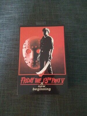 """Neca JASON VOORHEES Friday the 13th Part 5 Movie 7"""" Action Figure 2018"""