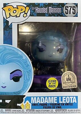Funko POP Haunted Mansion MADAME LEOTA Disney Parks Exclusive GITD 575 50th Glow