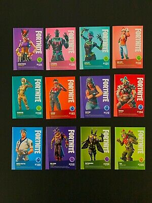 PANINI Fortnite Trading Cards Series 1 cartes de collection 102 Assault Rifle