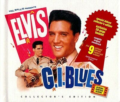 Elvis Presley-G.I. Blues Limited Edition Deluxe Digibook CD 1997 Remastered RCA