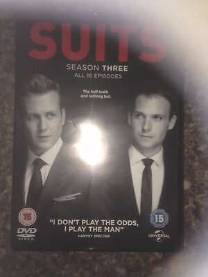 Suits Season  3 Dvd Uk Region 2