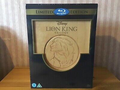 the Lion king trilogy limited edition wooden box