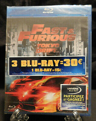 "Blu-ray - Fast and Furious ,Tokyo Drift "" Sous Blister "" en version française"