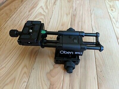 Oben MFR4-5 Macro Focusing Rail with 4-Way camera alignment