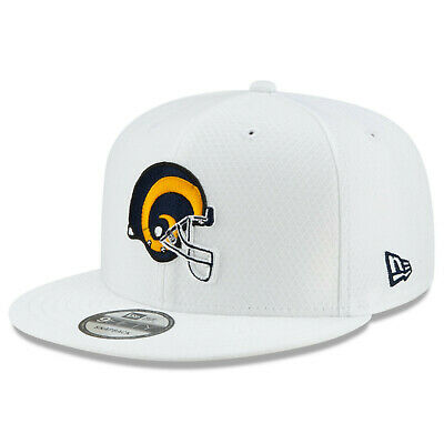 2019 Los Angeles Rams LA New Era 9FIFTY NFL Platinum Sideline Snapback Hat Cap