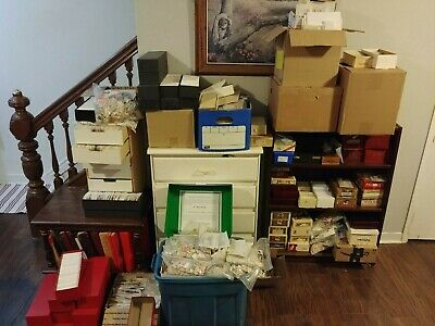 WORLD STAMPS 1000 DIFFERENT OLD + Bonus World Asia Colonial FROM ESTATE HOARD -1