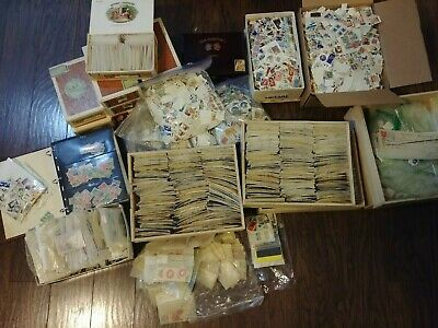 CANADA Stamps Lot Collection 1000+ ALL DIFFERENT + Bonus! Incredible value ~