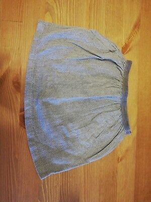 Silver Glittery Baby Girls Skirt 12-18 Months with pockets