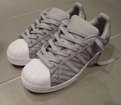 Pink White Lovely Payment Adidas Superstar Supercolor Weave