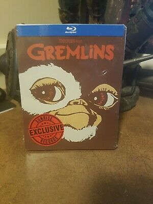 Gremlins Steelbook (Blu-Ray, Limited Edition) Factory Sealed