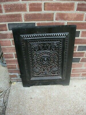 "SUMMER Fireplace Cover - Lots of ORNATE  Detail 19 1/2"" x 25 1/2"" approx."