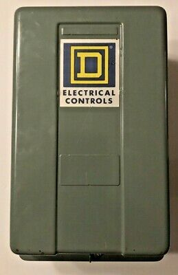 SQUARE D 8903 SMG12V LIGHTING CONTACTOR w/ENCLOSURE,-30A 110/120V-NEW OLD STOCK