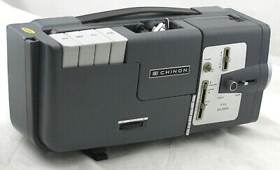 Chinon Film Projector Dual Reel 8mm C-100