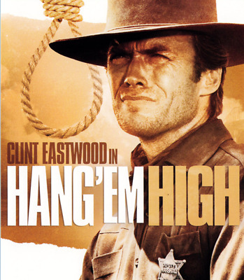 16mm Feature Film: HANG 'EM HIGH (1968) Western - CLINT EASTWOOD