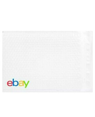 "eBay Branded Shipping Supplies Padded Airjacket Bubble Envelopes 8.5""x 11.25"""