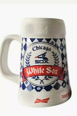 Chicago White Sox Beer Stein Giveaway Glass / Mug / Cup 8/24/19 SGA PRESALE
