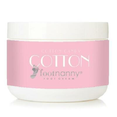 Footnanny - Cotton Candy Foot Cream - Soothes Cracked Heels and Dead Skin with a