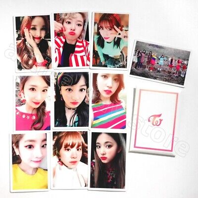 TWICE 4th Mini Album Signal Official Photocard Preorder 10 Cards Set