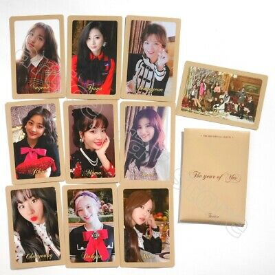 TWICE 3rd Special The Year Of Yes Official Photocard Preorder 10 Cards Set A