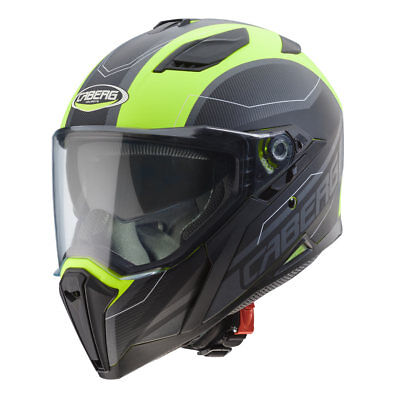 Integral Helm caberg Schakal Supra - Matt Yellow / Anthrazit/Black Größe L