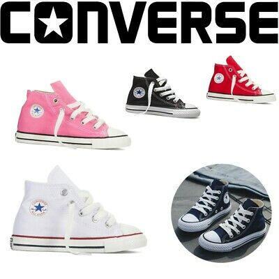 Converse Kids Chuck Taylor all Star Hi Sneakers Trainers Shoes for Childrens