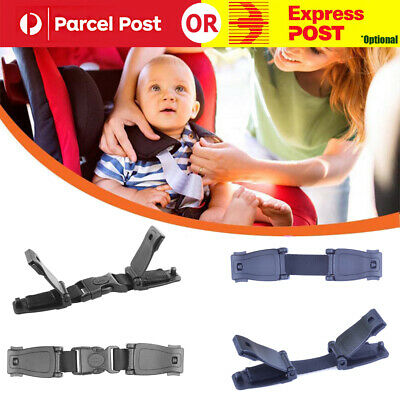 Car Safety Seat Strap Chest Clip Buggy Harness Lock Buckle Highchairs AU