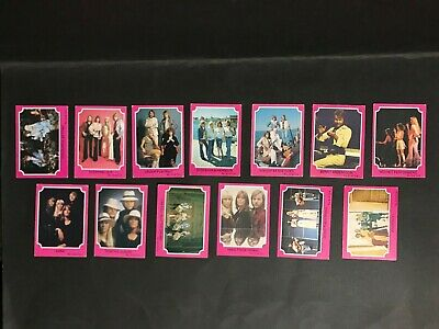 Scanlens Abba Series A Lot Of 13 Cards