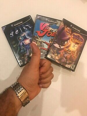 NES Nintendo GAMECUBE Geist,Viewtiful Joe & Spirit Games  /Condition Very Good