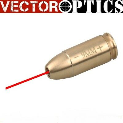 Vector Optics 9 MM En Laiton Cartouche Laser Rouge Bore Sight Collimateur