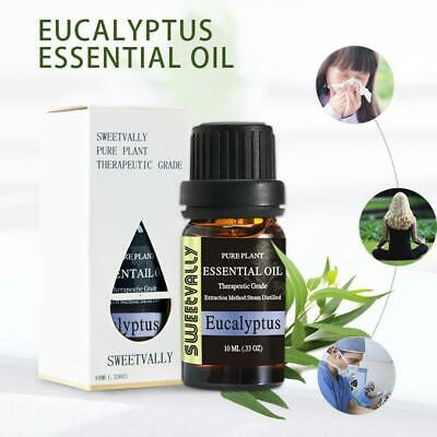 10ml Eucalyptus Essential Oils Natural & Pure Aromatherapy Humidifier Diffuser
