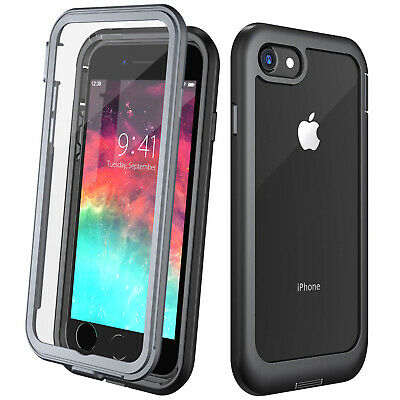 For iPhone 8 Plus Shockproof Case iphone 7 Cover Screen Protector Waterproof