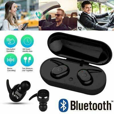 Wireless Headphones TWS Mini True Bluetooth 5.0 Stereo Earphones Headset Earbuds