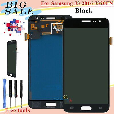 Display For Samsung Galaxy J3 2016 J320FN LCD Touch Screen Digitizer Replacement