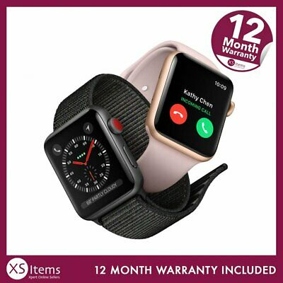 Apple Watch Series 3 38/42mm GPS/Cellular Aluminium/Steel Space Grey/Silver/Gold