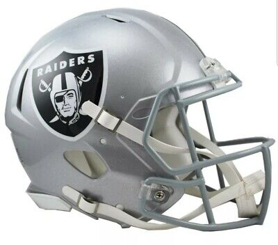 Riddell revo speed casque authentique NFL football americain neuf Raiders USA