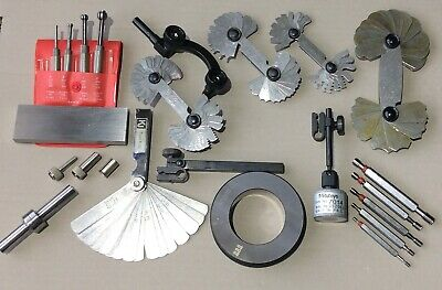 Metrology / machinist set Starrett Mitutoyo and other measuring and setting NEW