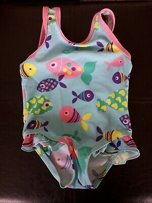 Baby Girls Swimming Costume, 3-6 Months, Hardly Worn, Mothercare