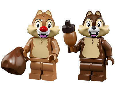 LEGO 71024 Disney Series 2 Minifigures Rescue Ranger Chip n Dale NEW Opened Foil