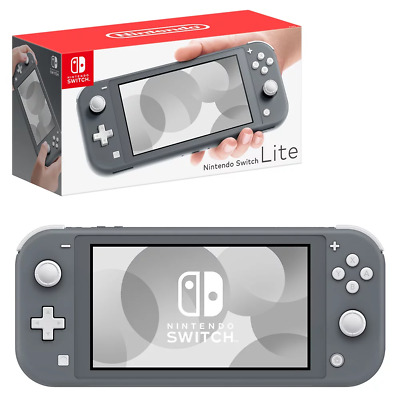 Nintendo Switch Lite Grey Console NEW PREORDER 20/9