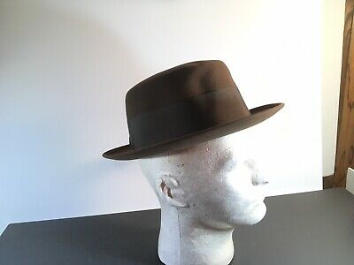 VINTAGE ROYAL STETSON Long Oval Hat From Anderson's The Open