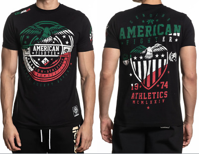 AMERICAN FIGHTER Mens T-Shirt GRAND CANYON Athletic MEXICO COLORS Biker UFC $40