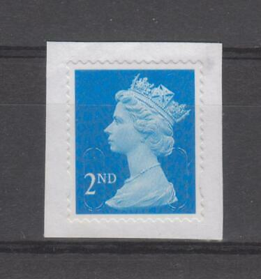 GB 100 2nd class issues Unfranked no gum Stamps on paper.