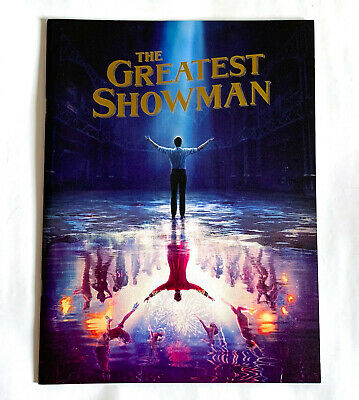 THE GREATEST SHOWMAN JAPAN MOVIE PROGRAM BOOK 2018 Hugh Jackman Michael Gracey