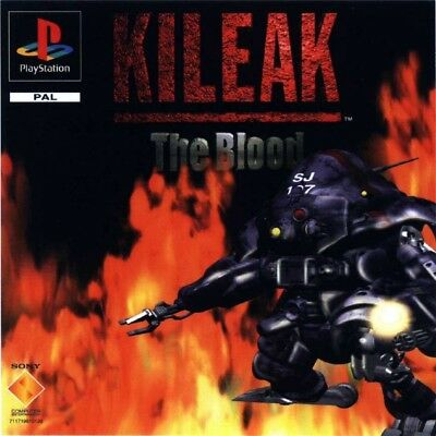 Kileak The Blood Pal Psx Playstation Game Games Giochi Console Play Station Us