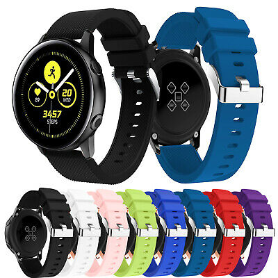 Replacement Silicone Sport Band Bracelet Strap For Samsung Galaxy Watch Active