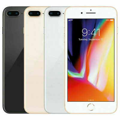 Apple iPhone 8 Plus- 64GB-256GB GSM Unlocked A1897 – GSM Great Screen!